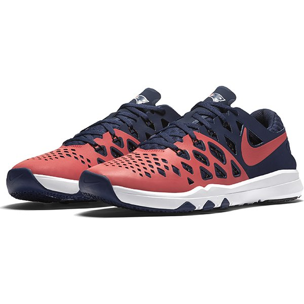 Nike Patriots Train Speed 4 Shoe-Navy/Red
