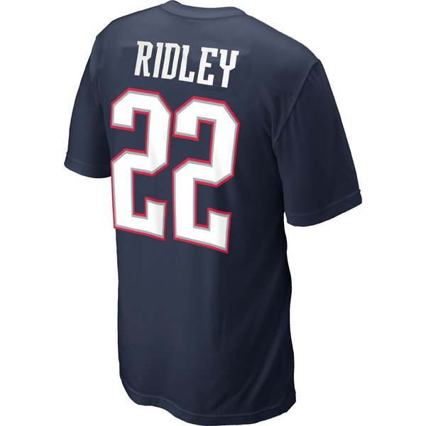2012 Nike Ridley Name and Number Tee
