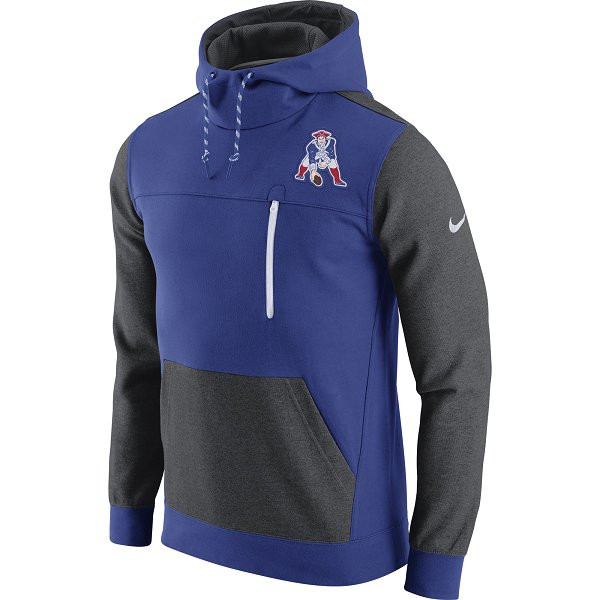 Nike Throwback AV15 Hood-Royal/Gray