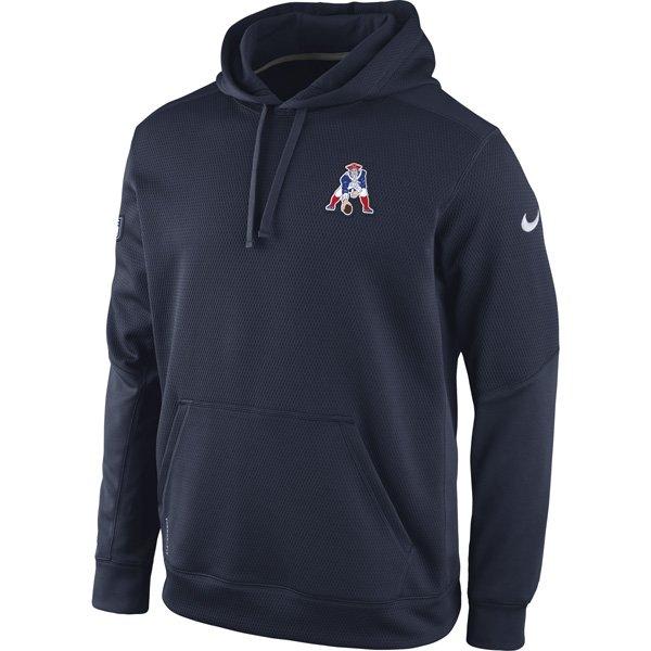 Nike Throwback Chain Fleece Hood-Navy