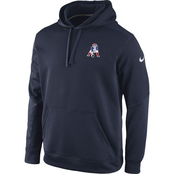 Nike Throwback Chain Fleece Hood-Navy