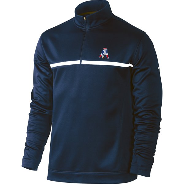 Nike Throwback 1/2 Zip Therm-Fit Top-Navy