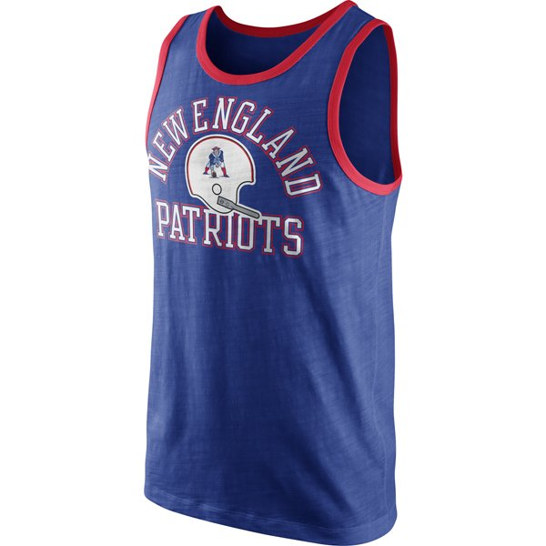 Nike Throwback Rewind Tank-Royal