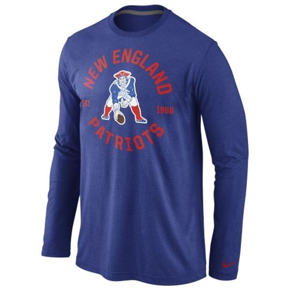 Nike Throwback Stamp It Long Sleeve Tee-Royal