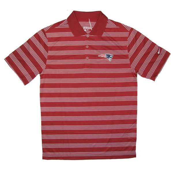 Nike Tech Stripe Polo-Red