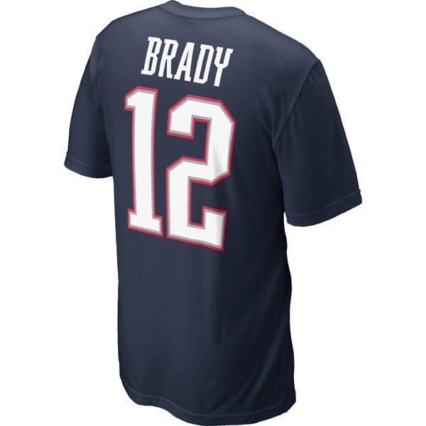 2012 Nike Brady Name and Number Tee