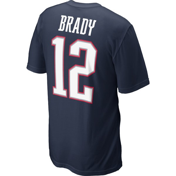 2012 Nike Brady Name and Number Tee