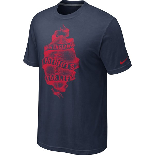 Nike Triblend Life Tee-Navy