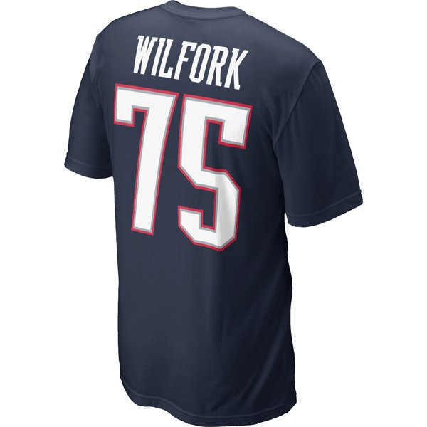 Nike Vince Wilfork Name & Number Tee