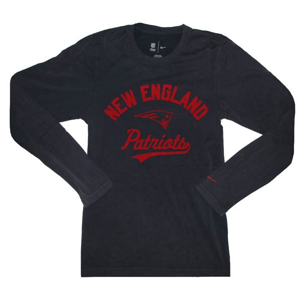 Nike Patriots Washed Long Sleeve Tee
