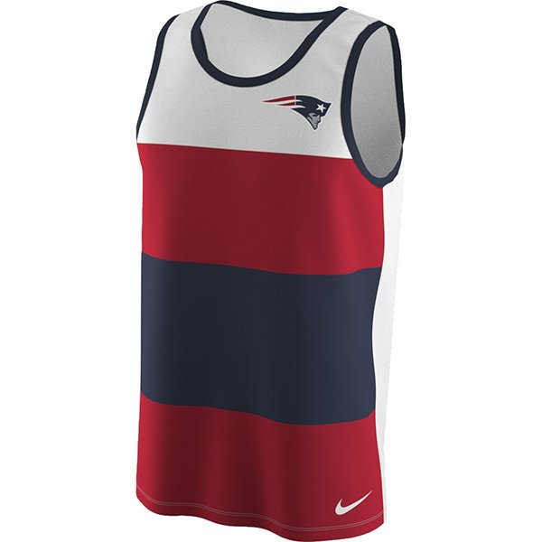 Nike Wide Stripe Tank-Red/White/Navy