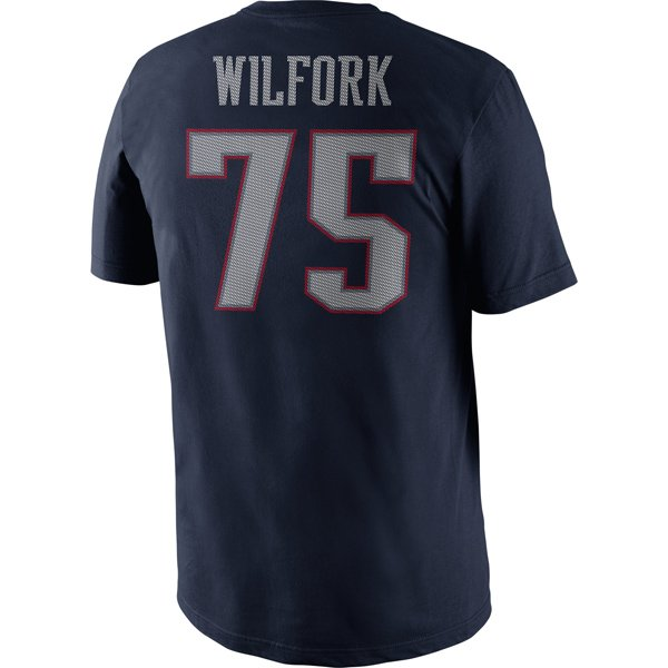 2013 Nike Wilfork Name and Number Tee