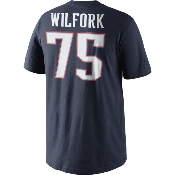 2014 Nike Wilfork Name and Number Tee