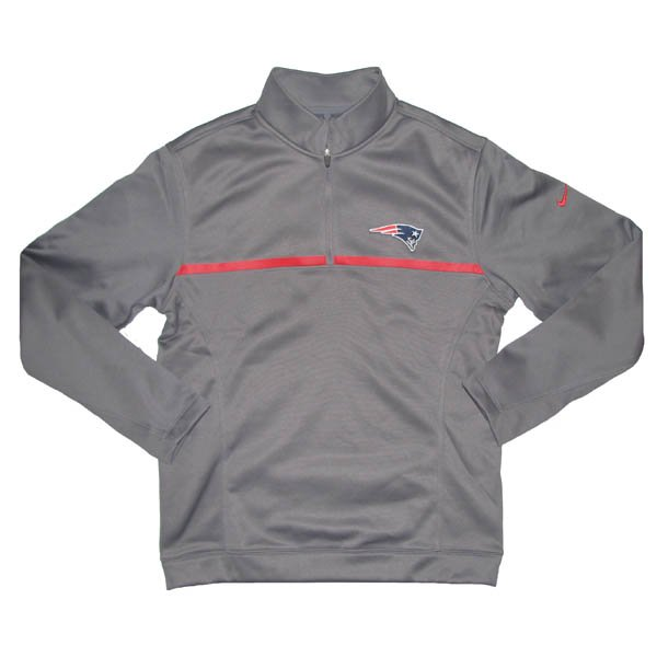 Nike 1/2 Zip Therma-Fit Top-Gray
