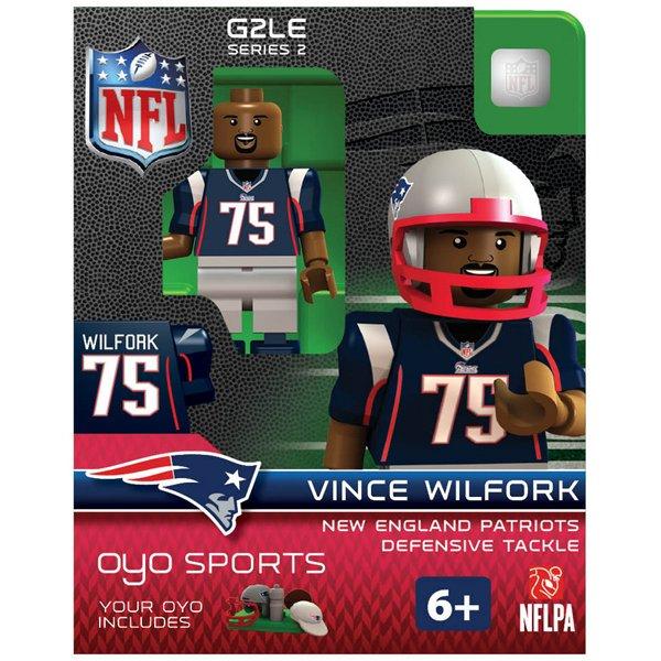 Patriots Vince Wilfork Oyo Figure