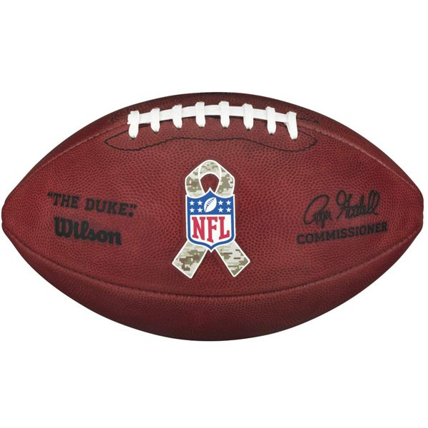 Official Salute To Service Duke Game Ball