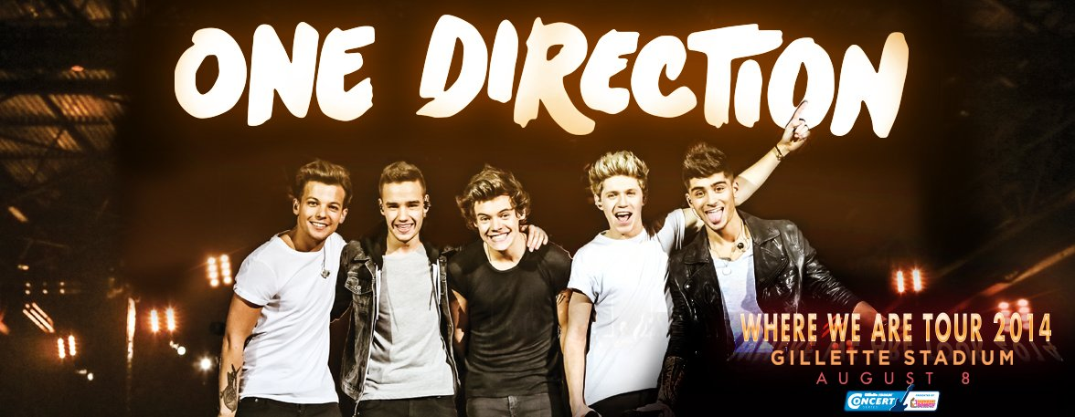 2014 One Direction Shows - August 7 & 8, 2014