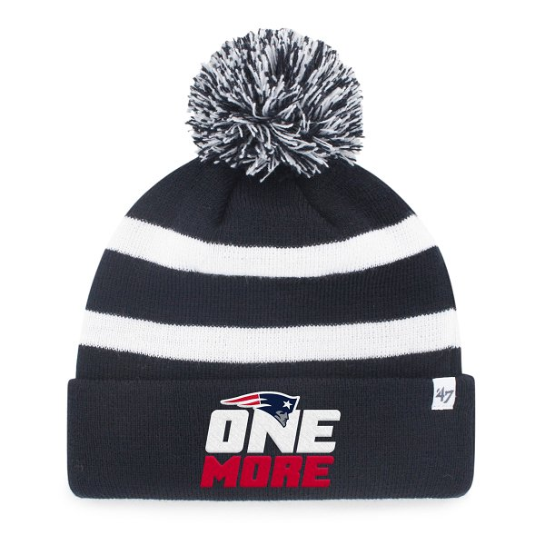 One More Breakaway Knit-Navy/White