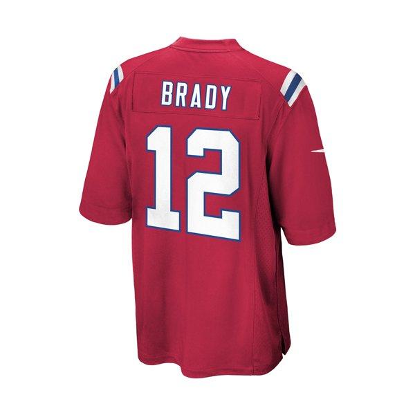 Preschool Nike Tom Brady Throwback JerseyRed