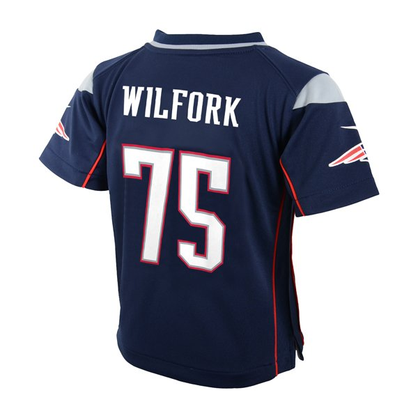 Preschool Nike Vince Wilfork Game Jersey-Navy