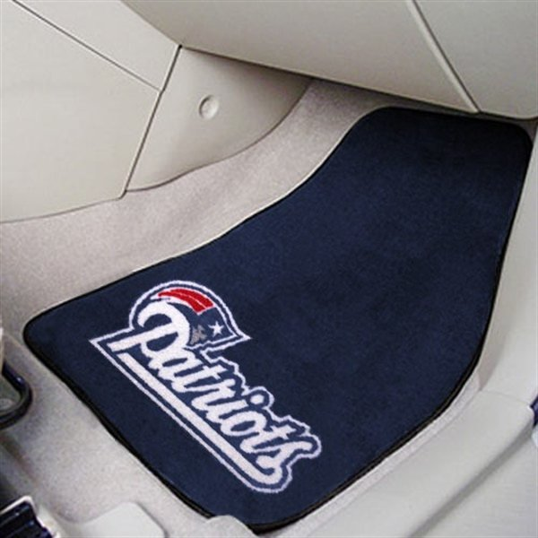 Pair of Carpet Car Mats-Navy