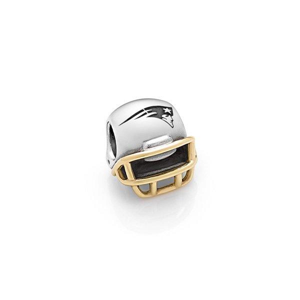 Pandora Patriots Helmet 2-Tone Charm