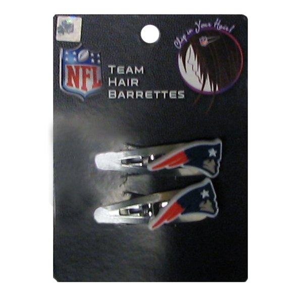 Patriots Hair Clip-2pk