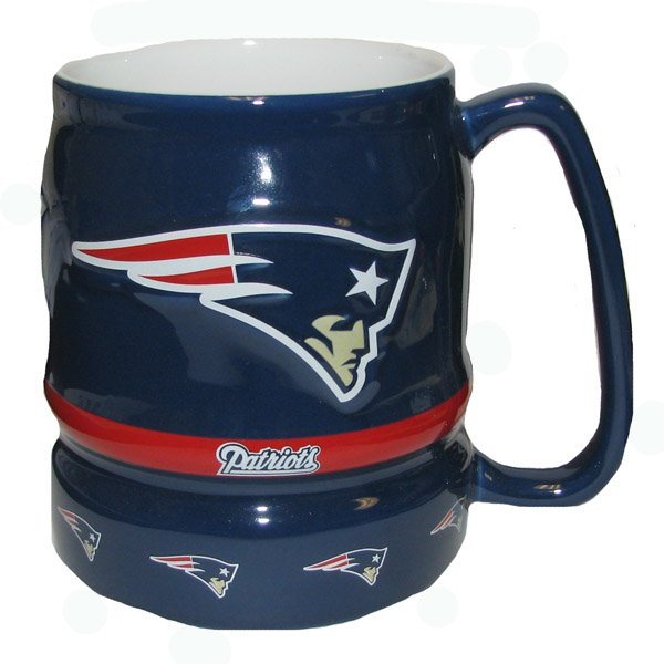 Patriots 16oz Barrel Mug