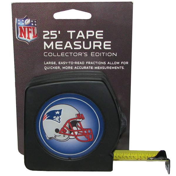 Patriots 25 ft. Tape Measure