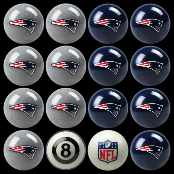 Patriots Billiard Ball Kit