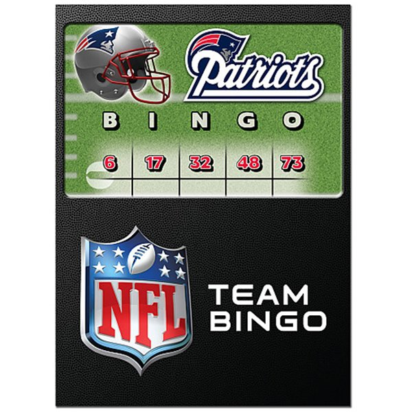 Patriots Bingo Game