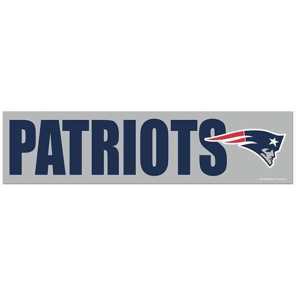 Patriots Bumper Sticker