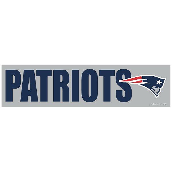 Patriots Bumper Sticker
