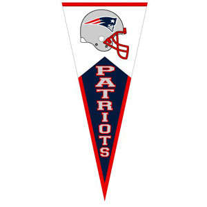 Patriots Classic Vertical Pennant