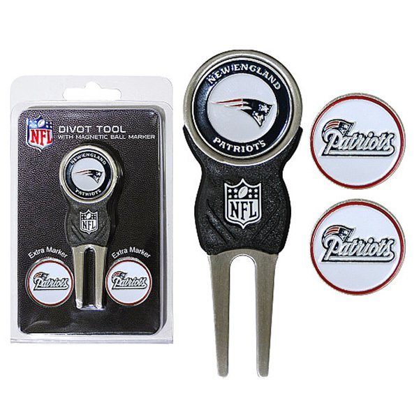 Patriots Divot Tool w/3 Markers