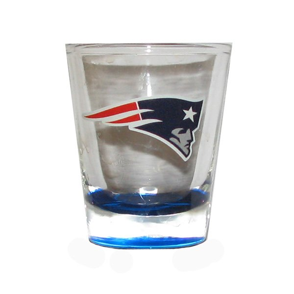 Patriots 2oz Highlight Shotglass