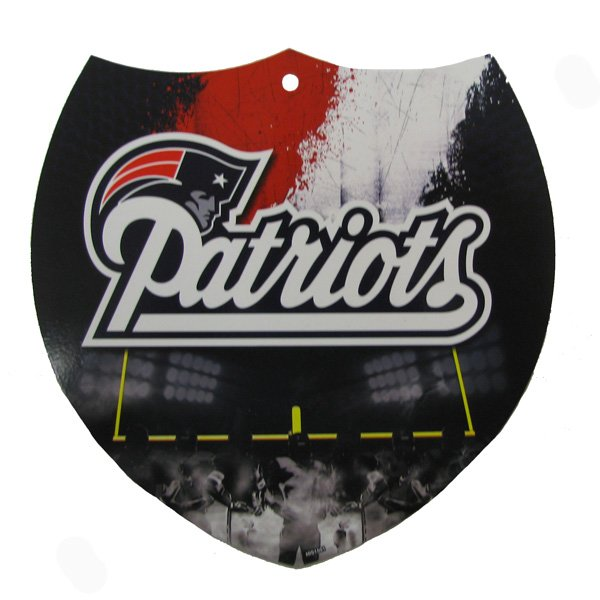 Patriots Plastic Interstate Sign