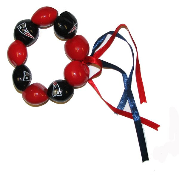 Patriots Kukui Nut Bracelet