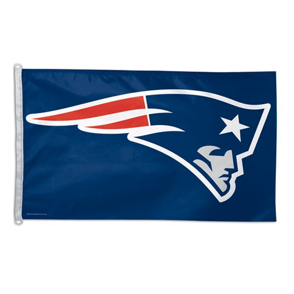 Patriots Logo 3x5 Flag