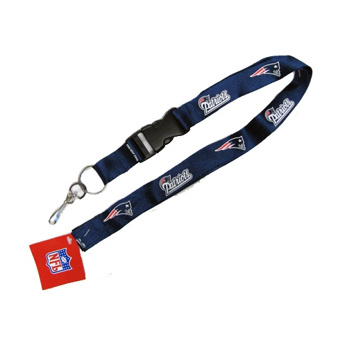 New England Patriots Navy Lanyard