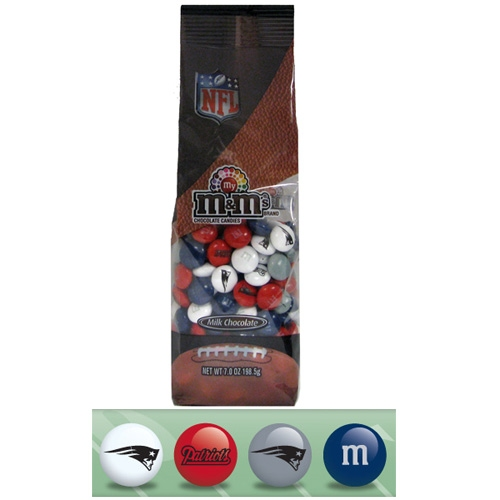 7oz Bag of Patriots M&M's