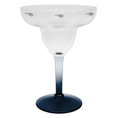 Patriots Margarita Glass