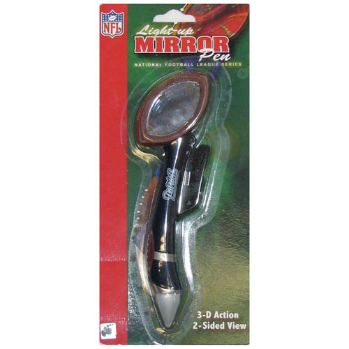 Patriots Mirror Light Up Pen
