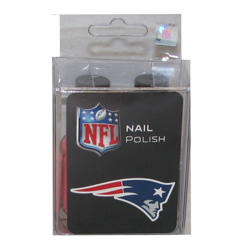 Ladies Patriots Nail Polish