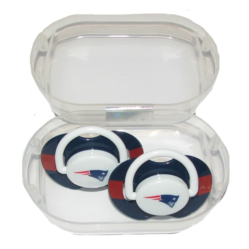 Patriots Pacifier 2-Pack Case