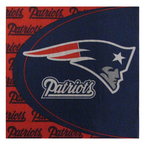 Patriots Paper Napkins 16 Pack