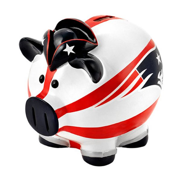 Patriots Flag Thematic Piggy Bank