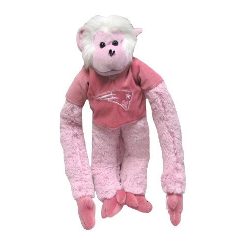Patriots Pink Rally Monkey