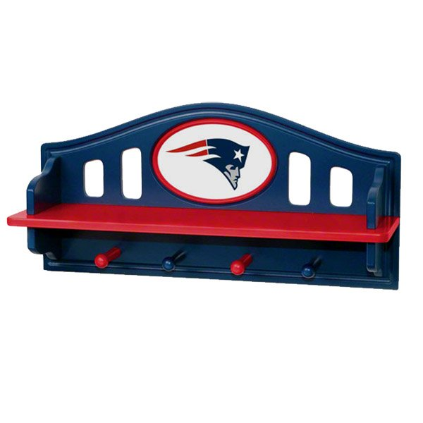 Patriots Shelf w/Pegs