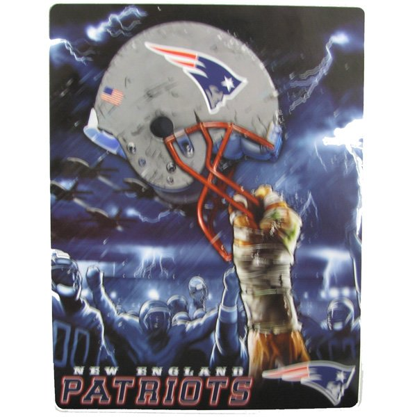 Patriots Sky Helmet 60x80 Blanket